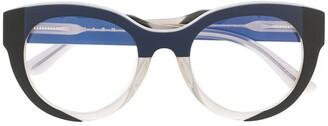 Marni Eyewear Round Frame Optical Glasses