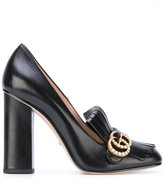 Gucci fringed pumps - women - Leather - 36.5