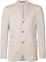 Eleventy button up blazer - men - Cotton/Linen/Flax - 46