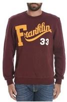 Franklin & Marshall Men's Burgundy Cotton Sweatshirt.