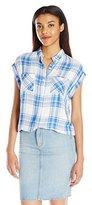 Rails Women's Britt Button Down Short Sleeve Shirt