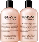 philosophy Apricots And Cream Set Of Two