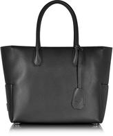 MCM Munich Black Leather Medium Shopper