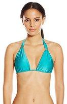 Vix Women's Solid Jade Bia Tube Bikini Top