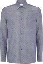 Peter Werth Men's Jackman Box Dash Printed Oxford Shirt