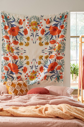Urban Outfitters Morgan Floral Tapestry