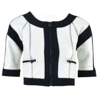 Chanel Silver Synthetic Jackets