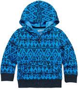 Arizona Full-Zip Fleece Hoodie -Toddler Boys 2t-5t