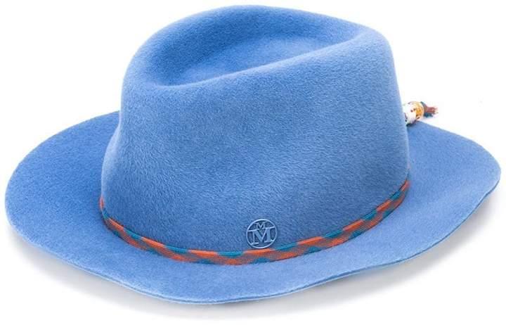 Maison Michel faux fur fedora hat