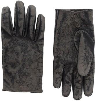 Kagawa Gloves Stone-Washed Press Stud Gloves