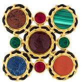 Chanel Crystal & Multi Stone Brooch