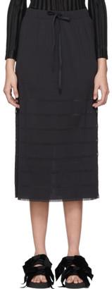 Pleats Please Issey Miyake Black A-POC Basics Skirt