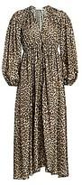Zimmermann Women's Suraya Leopard-Print Silk Dress