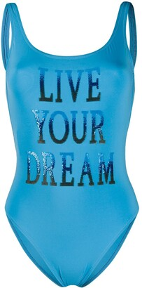 Alberta Ferretti Live Your Dreams swimsuit