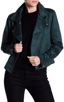 Sanctuary Do It Right Faux Suede Moto Jacket