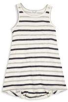 Splendid Toddler's & Little Girl's Mesh Striped Dress