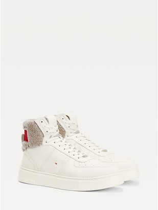 Tommy Hilfiger Lewis Hamilton Shearling High-Top Sneakers