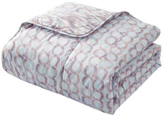 Natural Comfort Reversible All Season Down Alternative Comforter Mini Set, Ring/King,