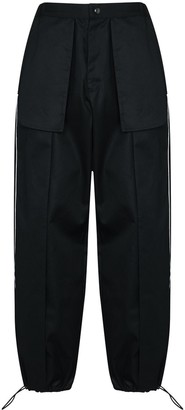 Paria Farzaneh Side Panel Detail Trousers