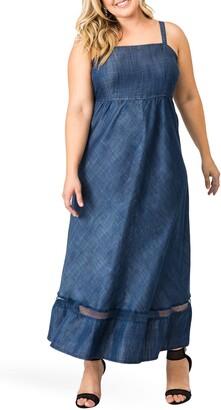 Standards & Practices Lynne Tencel Sleeveless Maxi Dress