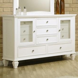 Canora Grey Barret 11 Drawer Dresser Color: White