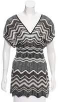 M Missoni Striped Knit Tunic