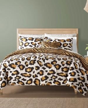 Sunham Safari Reversible 12-Pc. Comforter Sets Bedding
