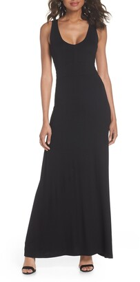 Fraiche by J Open Back Maxi Dress