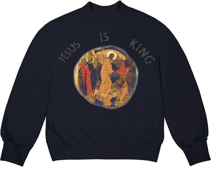 Thumbnail for your product : Yeezy 'Jesus is king' crew neck sweatshirt