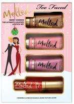 Too Faced Merry Kissmass Melted 4-piece Lip Set