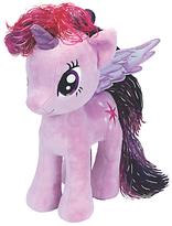 My Little Pony Ty Twilight Sparkle Beanie Baby, 30cm