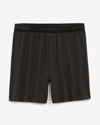 Express Black Supersoft Boxers