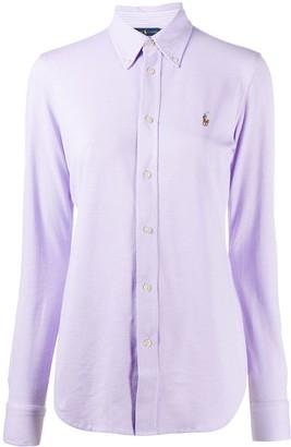 Polo Ralph Lauren embroidered logo Oxford shirt