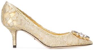 Dolce & Gabbana 'Bellucci' lace pumps