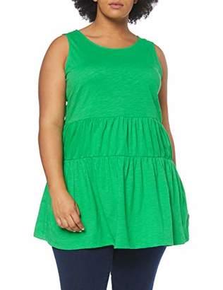 Junarose Women's Jrmitzi Sl Long Top-S Vest, Fern Green, (Size: Oversize L)