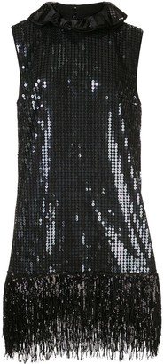 Halpern Embellished Shift Dress