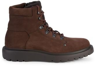Aquatalia Christopher Faux-Fur Trimmed Boots