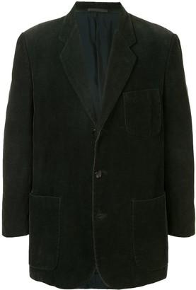 Comme Des Garçons Pre Owned Corduroy Suit Jacket