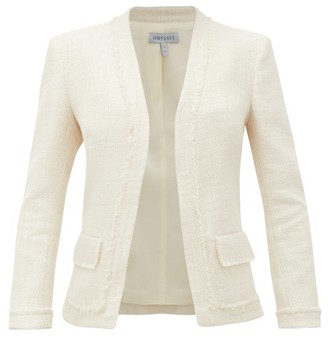 ODYSSEE Marlin Cotton-blend Tweed Jacket - Ivory