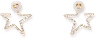 Swarovski Star Crystal Embellished Earrings