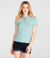 Aeropostale Womens Prince & Fox Double Tipped Piqu Polo Shirt