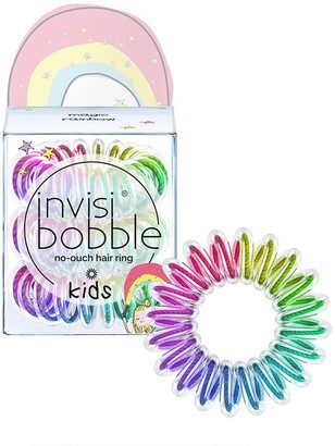 invisibobble No-Ouch Hair Ring 3 Pack Kids Magic Rainbow