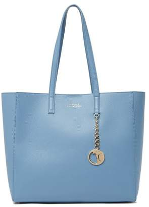 Versace Large Leather Tote Bag