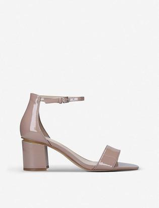 Aldo Valentina suede heeled sandals