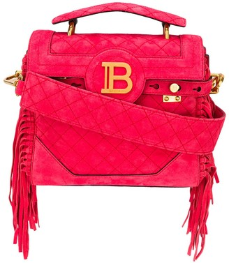 Balmain Fringed Detail Tote Bag