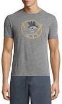 John Varvatos Top Hat Skull Graphic T-Shirt, Gray
