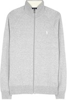 Polo Ralph Lauren Grey Zipped Cotton Cardigan