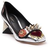 Dolce & Gabbana Spike Loafer Pump