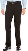 Roundtree & Yorke Big & Tall Travel Smart Ultimate Comfort Classic Fit Non-Iron Twill Dress Pants