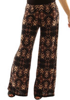 24/7 Comfort Apparel Glamour Goes Anywhere Palazzo Pants